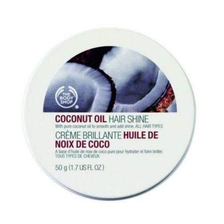 Coconut Oil Hair Shine